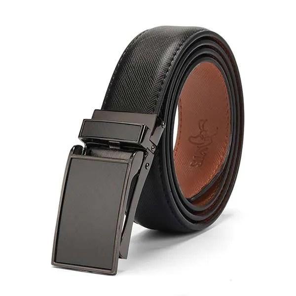 Genuine Leather Men Strap Luxury Belt 6