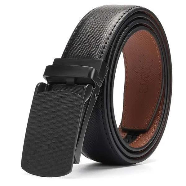 Genuine Leather Men Strap Luxury Belt 9