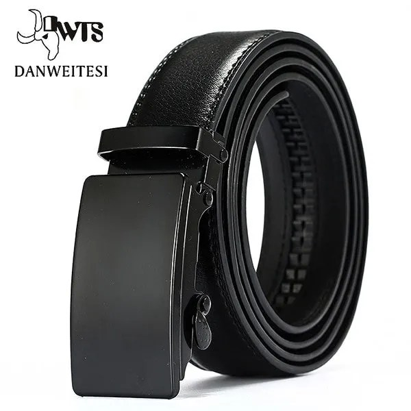Men Luxury Leather Belt with Automatic Buckle 12
