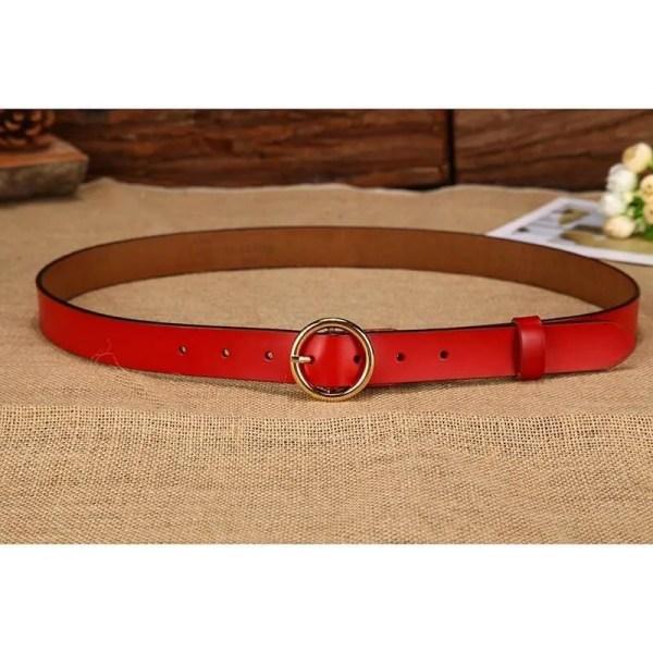 Designer Leather Belt for Women 2