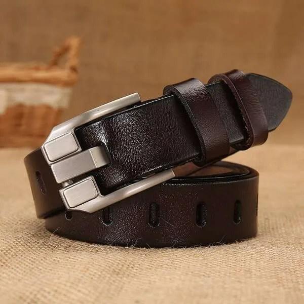 Women Designer Fashion Leather Belt 7