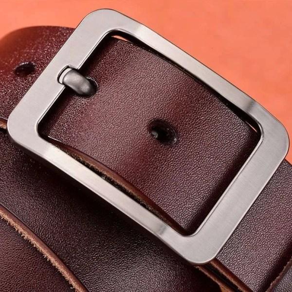 Genuine Cowskin Leather Belts for Men 1