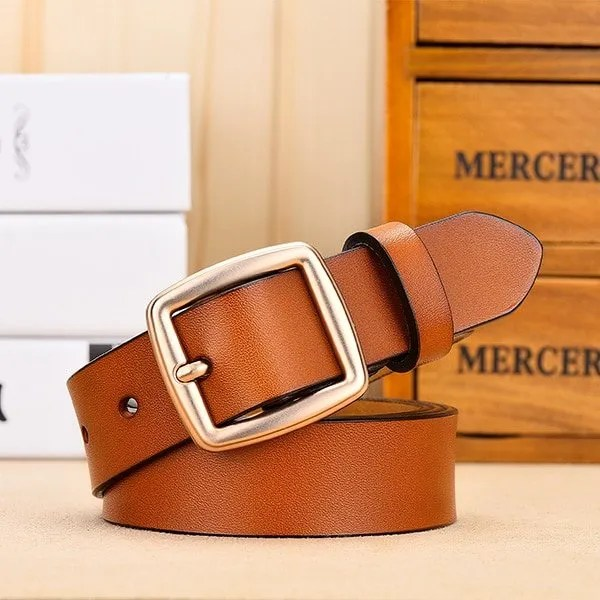 Fashion Women Belt Genuine Leather for Jeans 7