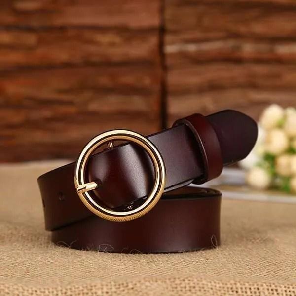 Designer Leather Belt for Women 6