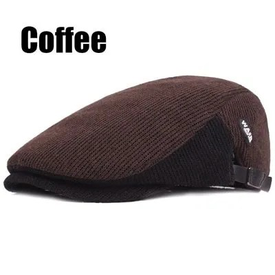 New Fashion Casual Autumn Sports Berets Caps For Men and Women 7