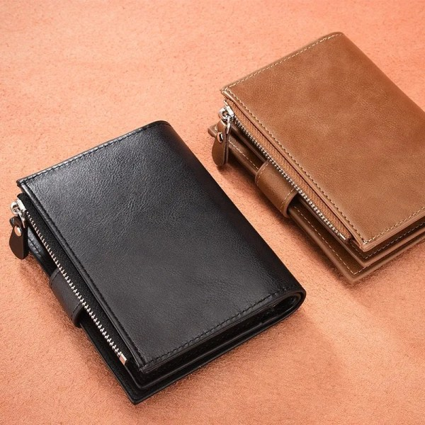 Men's High Quality Leather Wallet Purse 2