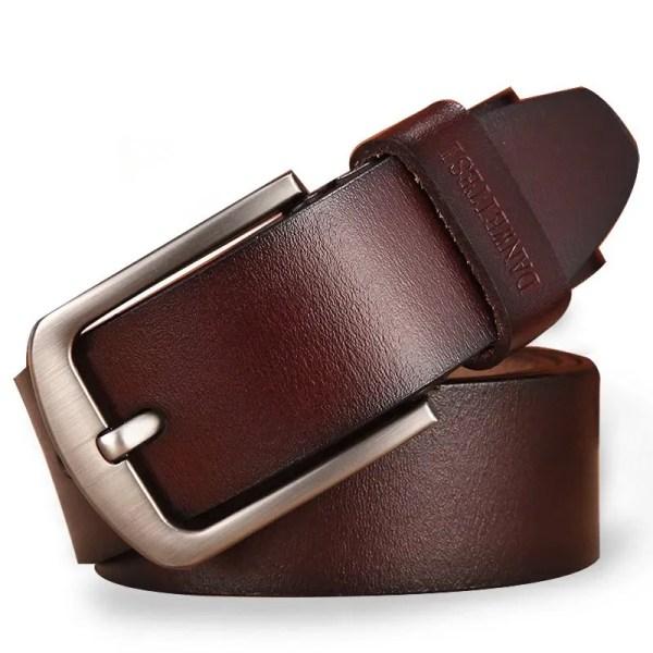 Men Genuine Leather Jeans Belt 1