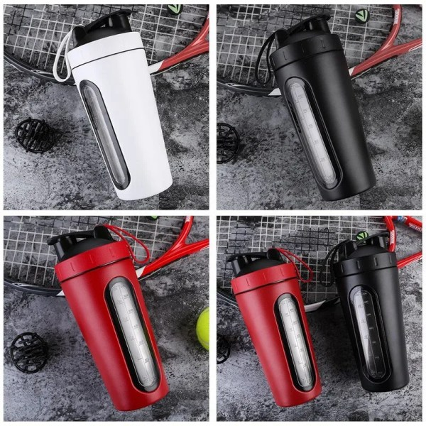 Durable Stainless Steel 700 ml Protein Shaker Water Bottle 5