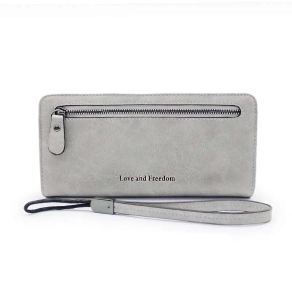 Women Fashion PU Leather Long Wallet 7