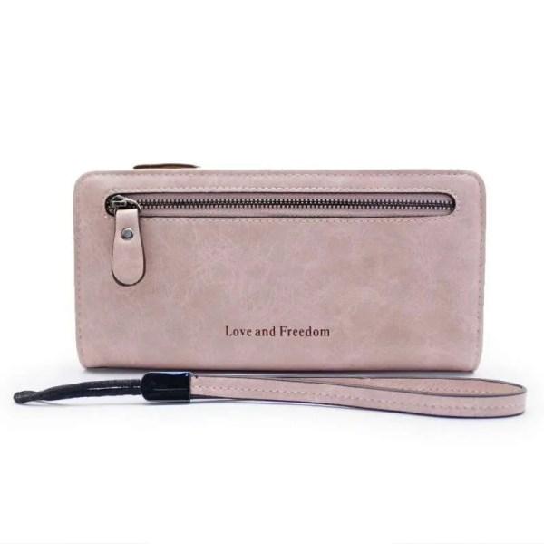 Women Fashion PU Leather Long Wallet 2