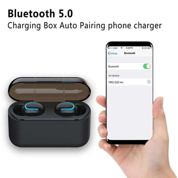 Bluetooth TWS Wireless Bluetooth 5.0 Earphones 2