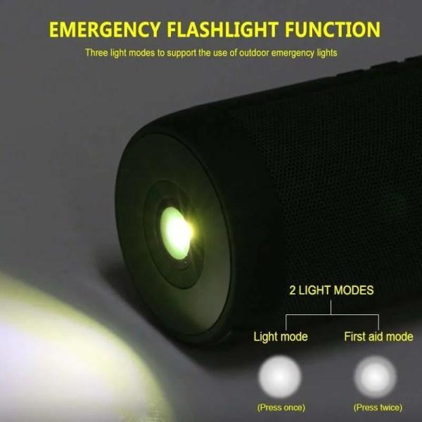 Wireless Bluetooth Mini Column Portable Loudspeaker (Light Modes)