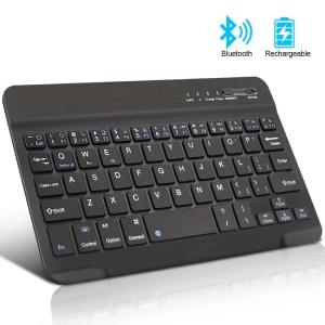 Mini Wireless Bluetooth Rechargeable Keyboard