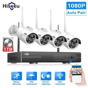 Hiseeu 8CH Wireless CCTV Security System