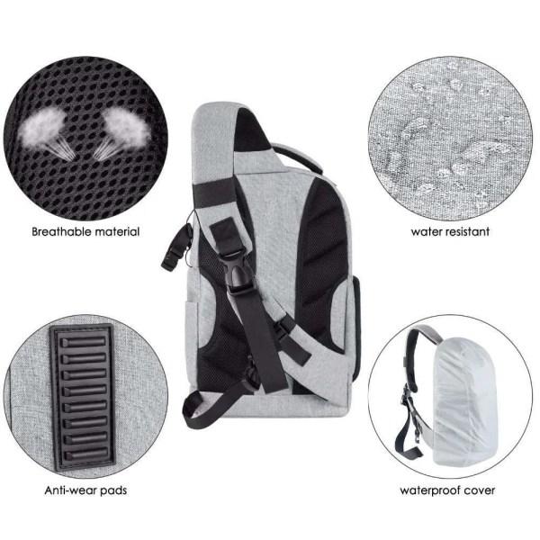DSLR Sling Camera Backpack Bag 3