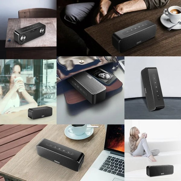 Bluetooth Wireless Stereo Sound Boombox Speakers 6