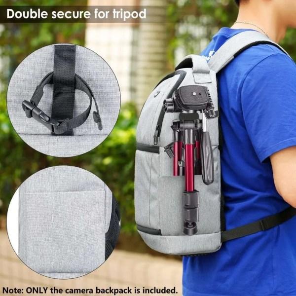 DSLR Sling Camera Backpack Bag 4