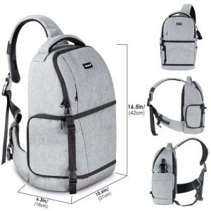 DSLR Sling Camera Backpack Bag