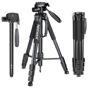 Portable 70 inches/177 cm Aluminum Alloy Camera Tripod