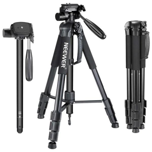 Portable 70 inches/177 cm Aluminum Alloy Camera Tripod 1