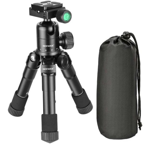 Portable 20 inches Compact Macro Mini Tripod with 360 Degree Ball Head 4