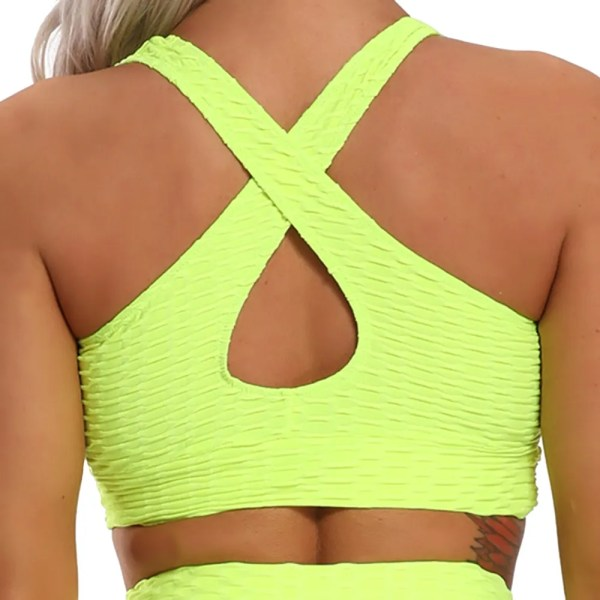 CROSS1946 Running Sports Bra Yoga Brassiere Workout Gym Fitness Women Seamless Push up Breathable Underwear Breathable top