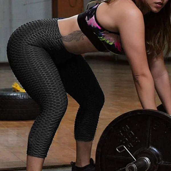 Women Tummy Control Stretchy Workout Leggings 14