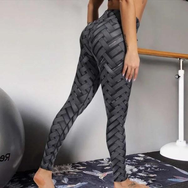 Sexy High Waist Scrunch Booty Pants 4