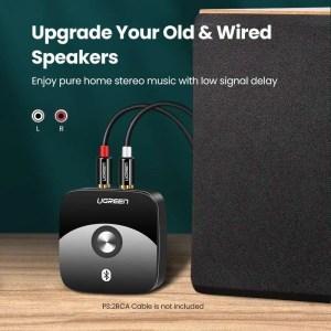 Bluetooth RCA Receiver 5.0 aptX 3.5mm Jack Aux Wireless Adapter