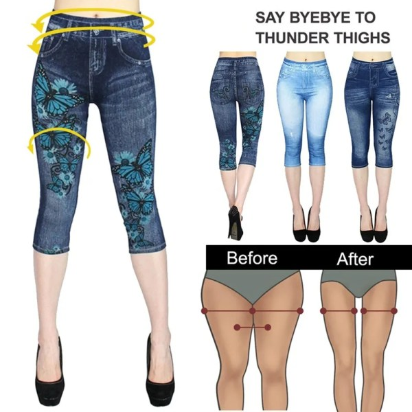 Women Summer Leggings Jeans Style 11