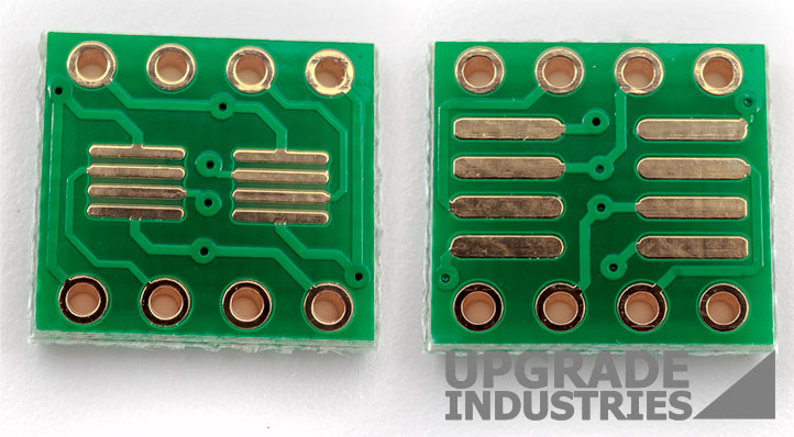 5x Double Sided SOP8 and TSSOP8 to DIP8 adapter Breakout