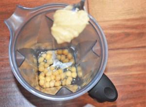 Peanut butter + Chickpeas