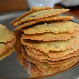 Chickpea Cookie - crispy and gluten free