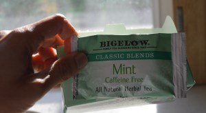 Bigelow Mint tea