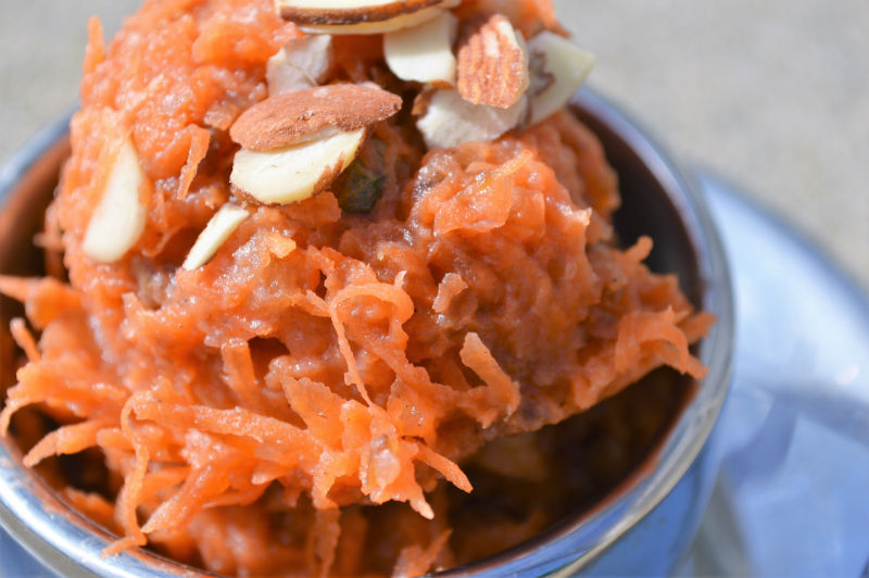 Healthy carrot halwa, upgrademyfood