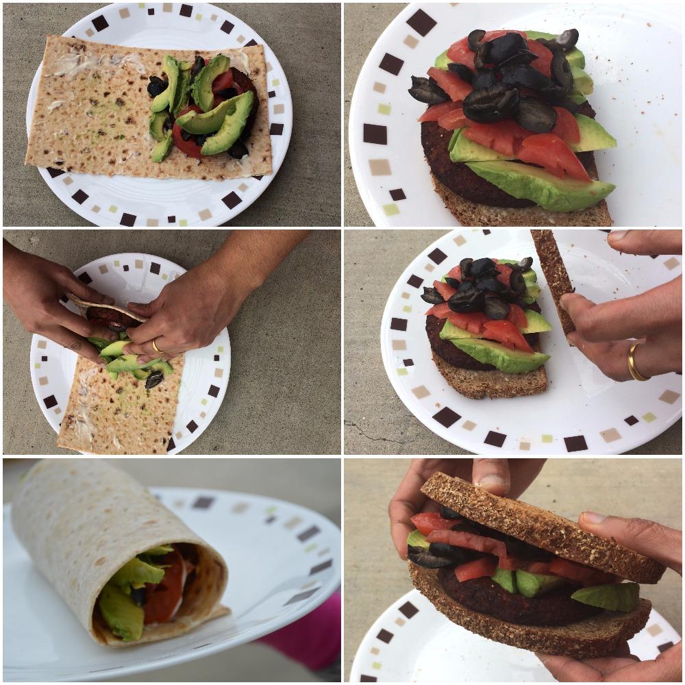 Comparing a wrap vs a sandwich