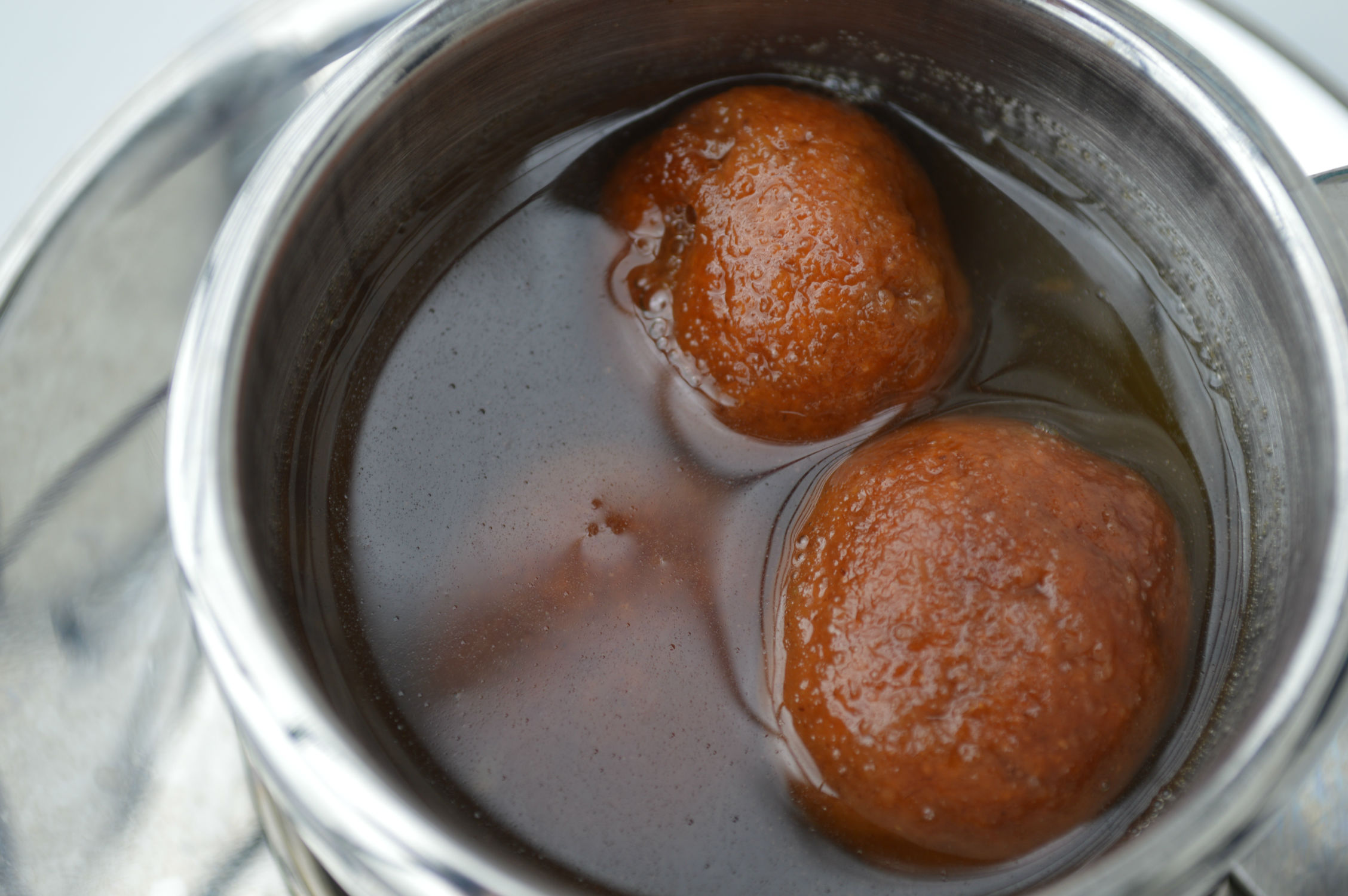 No oil no sugar Healthy Gulab Jamun