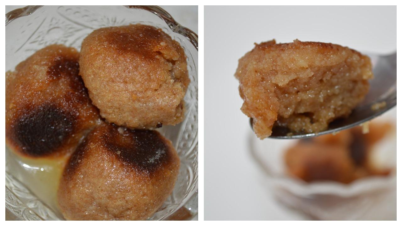 Soft Baked Gulab Jamun