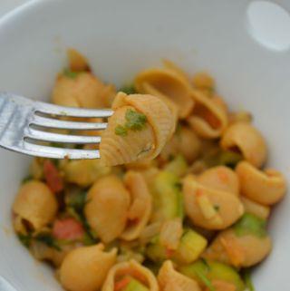 Banza pasta (Flavored with Indian chana masala)