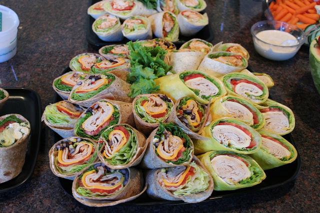 Choose wraps over sandwich