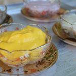 Healthy tofu pudding custard