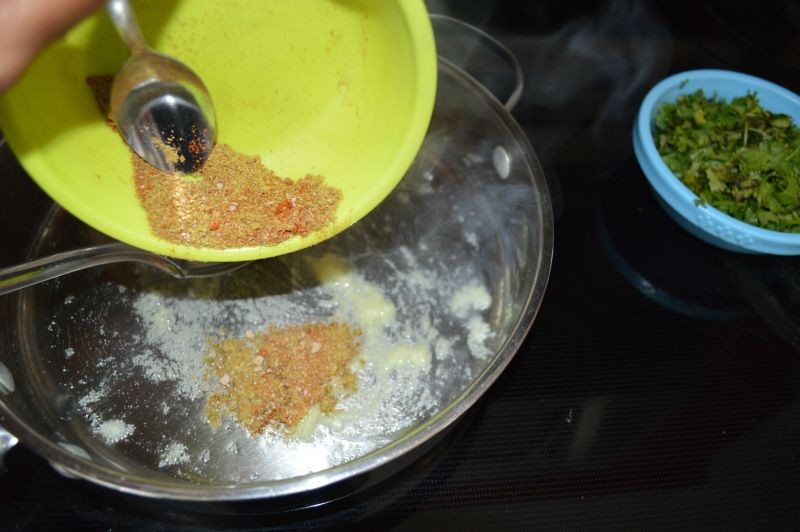 Spices to oil
