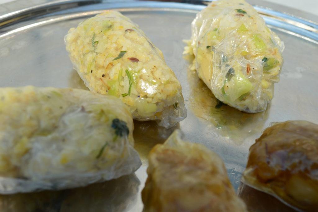 Lentil Vegan rice wraps