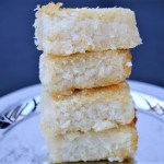 Coconut dessert bars recipe