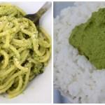 Kale Pesto and thogayal dishes