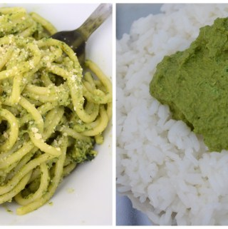Kale Pesto and thogayal dishes