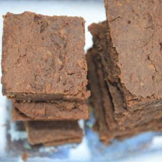 Healthy low fat low sugar brownie