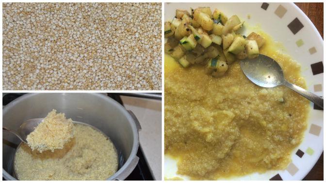 Quinoa as a rice substitute