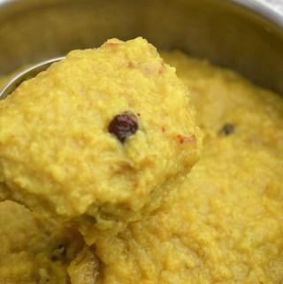 Kesari Recipe (Using Oats, apples)