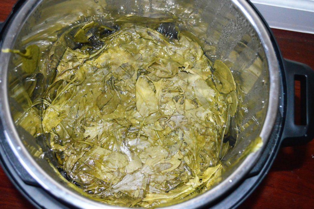 greens instant pot